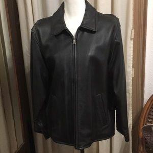 Eddie Bauer Black Leather Jacket